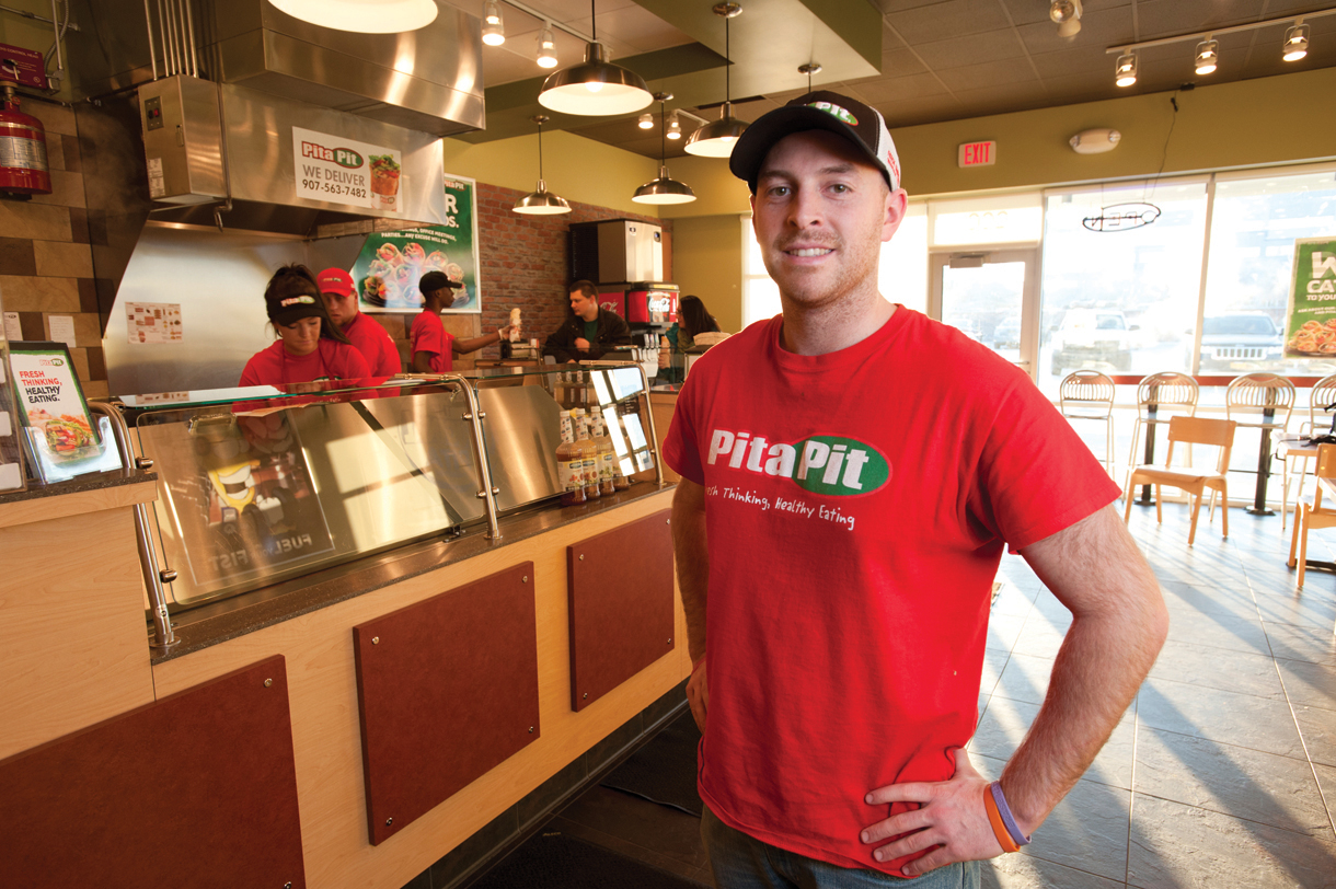 Alaska journal st pierre powers new pita pit franchise for Powers bureau issue 13